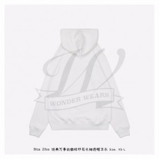 BC Uniform Large Fit Hoodie in White