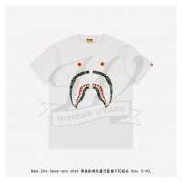 BAPE ABC CAMO SHARK TEE White