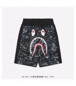 BAPE Camo Shark Sweat Shorts