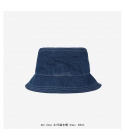 BR Denim Circle-Logo Bucket Hat