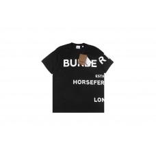 BR Horseferry Print Cotton Oversized T-shirt