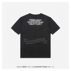 BR Location Print Cotton Oversized T-shirt Black