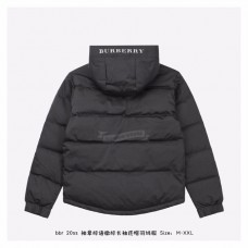 BR TB Icon Hooded Puffer Jacket Black