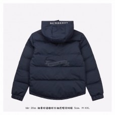 BR TB Icon Hooded Puffer Jacket Blue