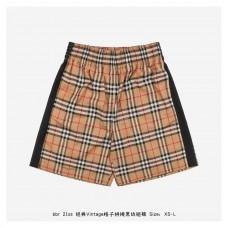 BR Vintage Check Stitching Shorts