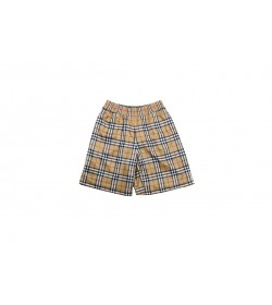 BR Vintage Check Technical Twill Shorts