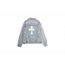 Chrome Hearts Cross Denim Jacket