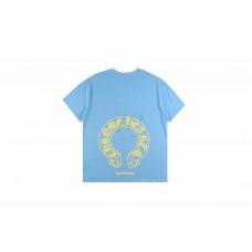 Chrome Hearts Horseshoe T-shirt Blue