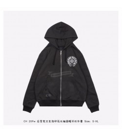 Chrome Hearts New York Hoodie Black