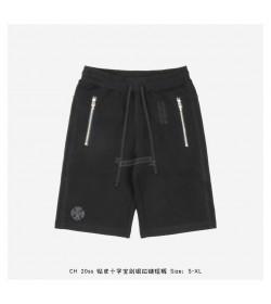 Chrome Heart Zip Patch Shorts