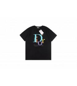 DR Multicolor Logo Print T-shirt