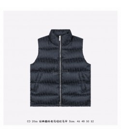 DR Oblique Sleeveless Down Jacket