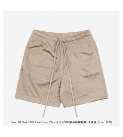 FOG Essentials Mesh Drawstring Shorts
