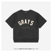 FOG Three-Quarter Sleeve Grays T-Shirt