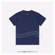 GC Anchor print oversize T-shirt Blue