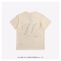 DSN x GC Sequin Print T-shirt Ivory White