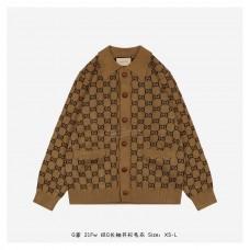 GC GG Wool Cotton Cardigan