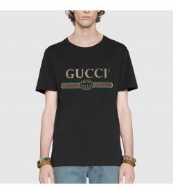 GC Oversize Washed T-shirt with GC logo