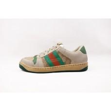 GC Screener GG Canvas/White Leather Sneaker