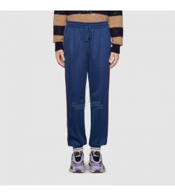 GC Technical Jersey Jogging Pant in Blue