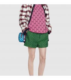 GC Women's Multicolor Canvas Shorts