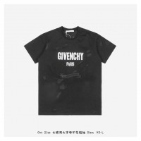GVC Paris Big Logo Oversize Destroyed T-shirt