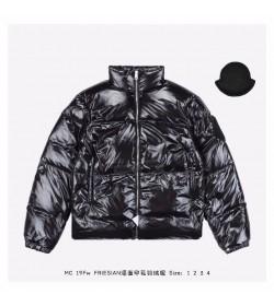 MONCLER FRIESIAN Down Jackets Black