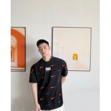 NK & Kith Allover Logo Print T-shirt - 2 Colors