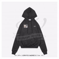 Off-White Caravaggio Angel Hoodie in Black