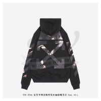 Off-White Caravaggio Arrows Hoodie Black/Multicolor