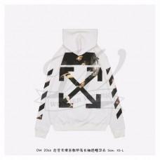 Off-White Caravaggio Arrows Hoodie White/Multicolor