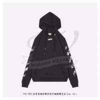 Off-White Caravaggio Square Over Hoodie Black/Multicolor