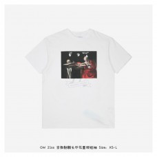Off-White Caravaggio S/S Oversized T-Shirt