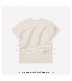 Off White Cut Here S/S T-shirt in White