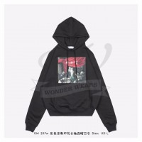 Off-White Caravaggio Painting Hoodie in Black