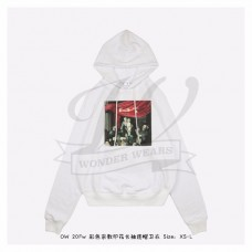 Off-White Caravaggio Painting Hoodie in White