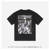 Off-White CARAVAGGIO SQUARE S/S OVER T-SHIRT Black