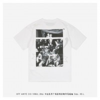 Off-White CARAVAGGIO SQUARE S/S T-SHIRT White