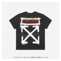 Off-White CARTOON S/S T-SHIRT Black/Orange