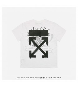 Off White DRIPPING ARROWS S/S OVER T-SHIRT White