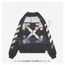 OFF-WHITE Diag Arrows Sweatshirt Black/Multicolor