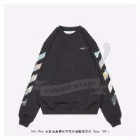 OFF-WHITE Diag Arrows Sweatshirt Black/Multicolor