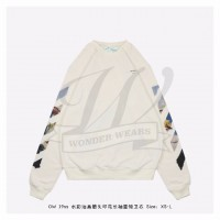 OFF-WHITE Diag Arrows Sweatshirt White/Multicolor
