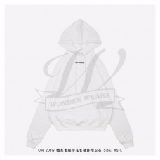 Off-White Marker Arrows Hoodie White/Red