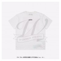 Off-White MARKER S/S OVER T-SHIRT White Red