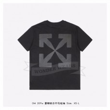 Off White Monalisa S/S T-shirt in Black