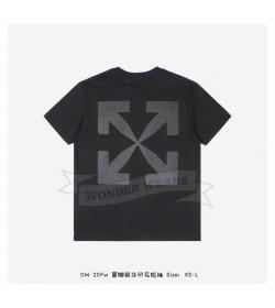 Off White Monalisa S/S T-shirt in Black