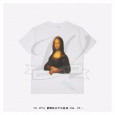 Off White Monalisa S/S T-shirt in White