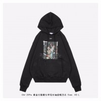 OFF-WHITE Pascal Hoodie Black/White
