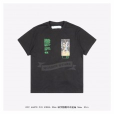 Off White Pascal Painting S/S Over T-shirt Black
